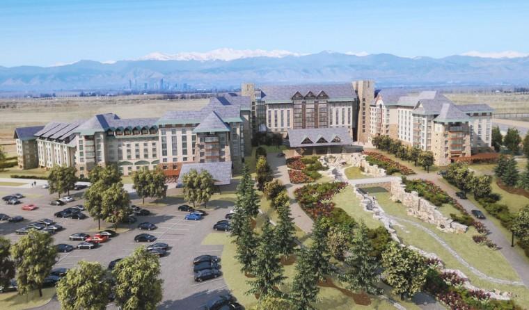 Aurora Lures Giant Hotel Complex To Prairie Land Near Dia