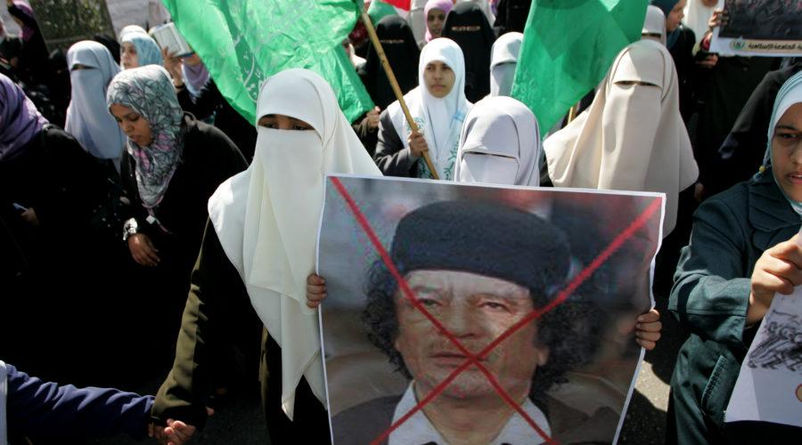 Gadhafi seeks PR help to repair image