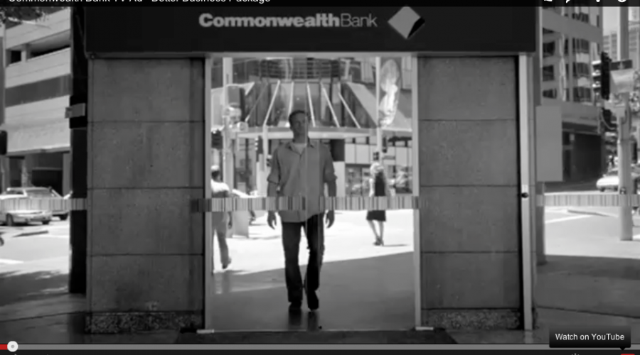 how to set account as an offset in commbank