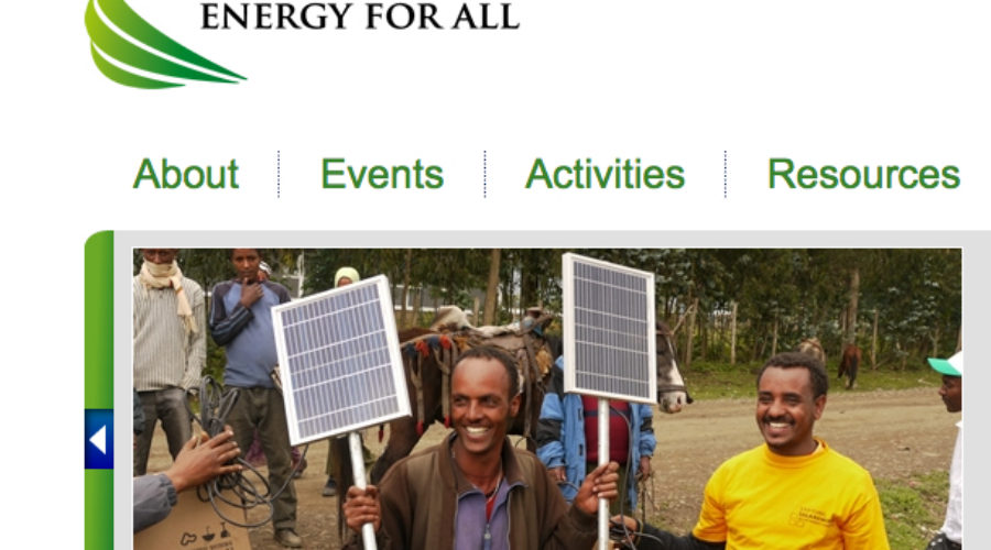 UN Seeks PR Counsel For Global Sustainable Energy Drive