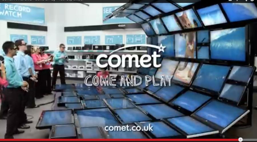 Comet stores reviews $26.5 million account