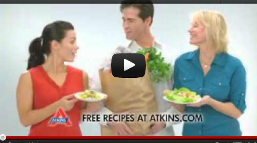 Atkins Nutritionals, Inc. Announces the Re-Launch of Atkins.com