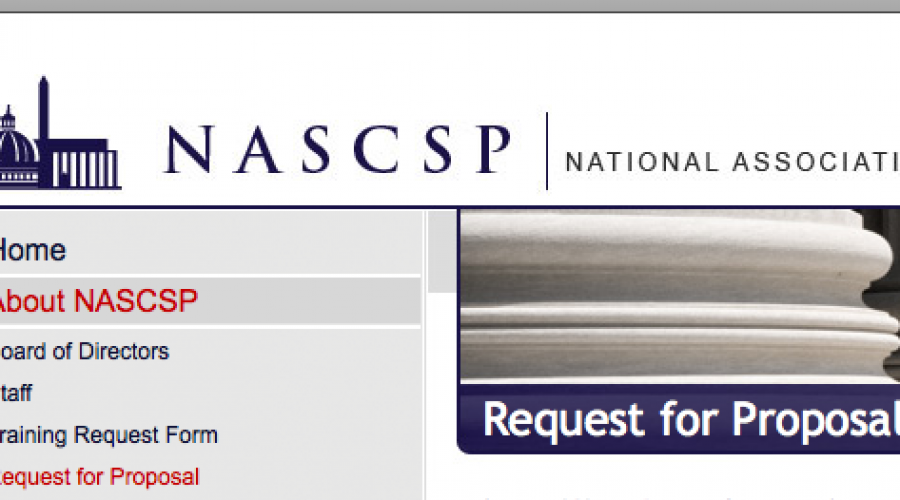 Stopping Poverty: NASCSP has put a communications project up for review
