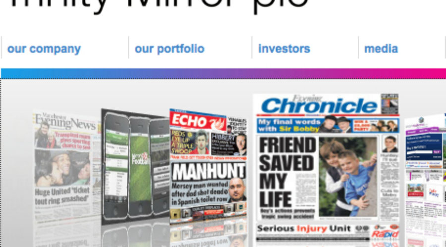Publisher plans promotion push for portfolio of print properties: Trinity Mirror