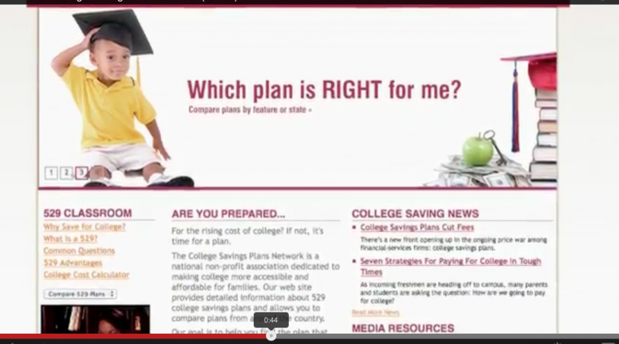 The College Savings Plans Network has PR Account in Play