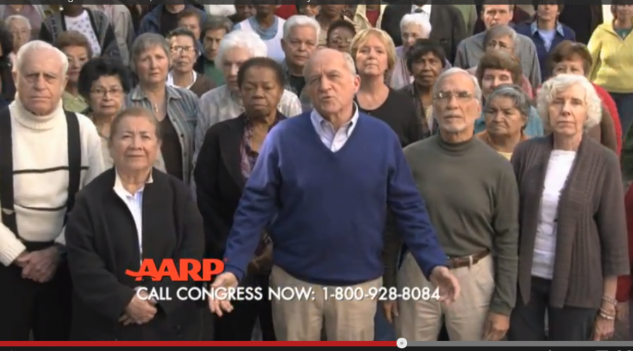 $230 million AARP Advertising Account Kind of in Review . . .