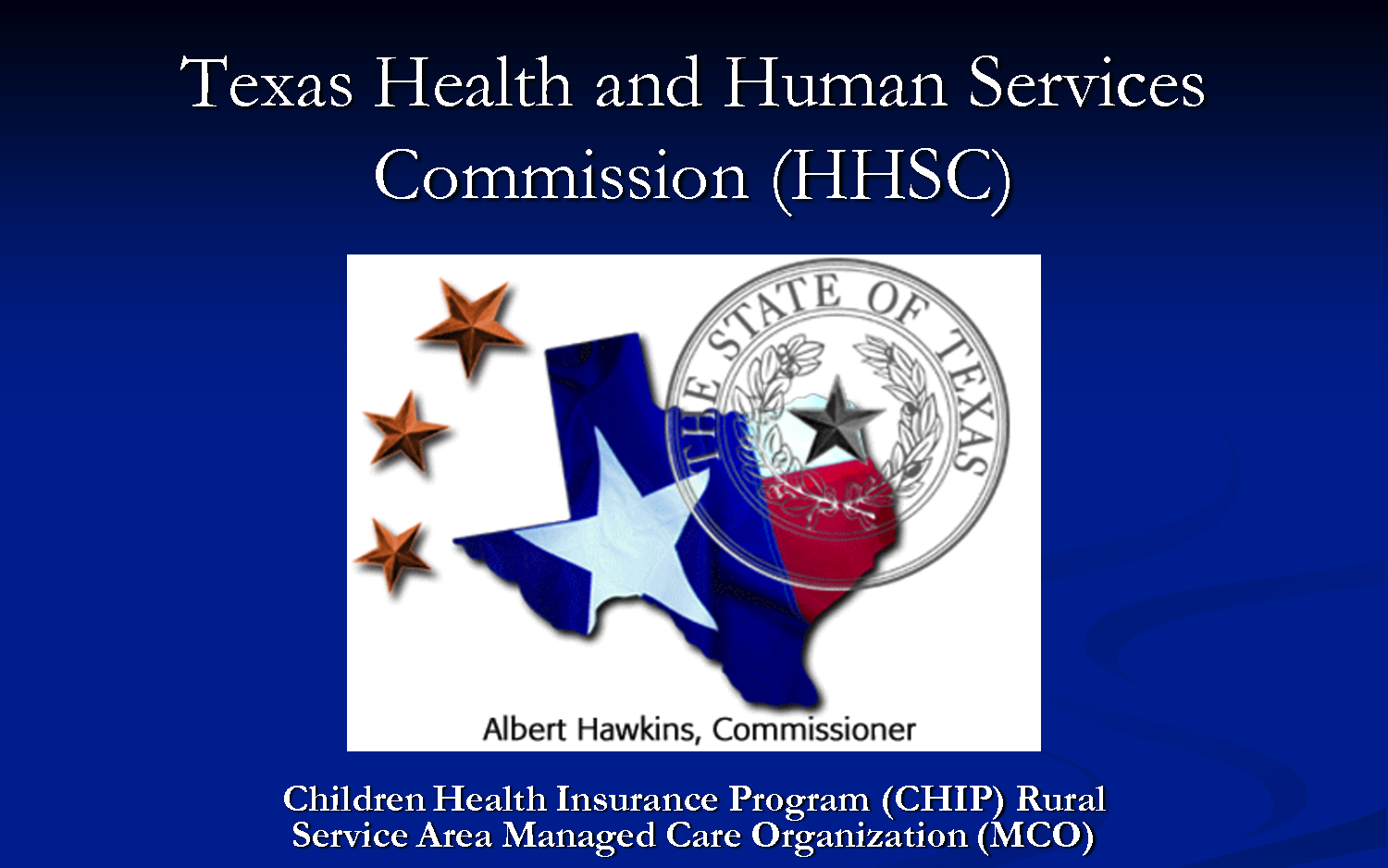 Texas Health and Human Services Commission Issues RFP ...