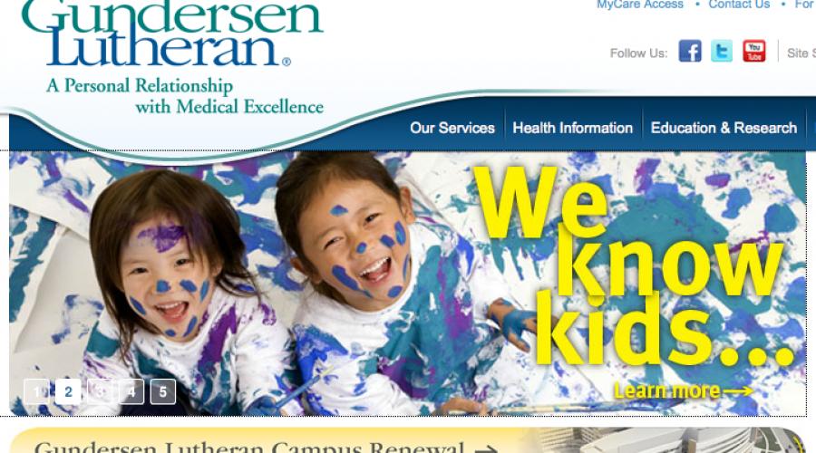 Rebranding: Dropping the Lutheran from Gundersen Lutheran