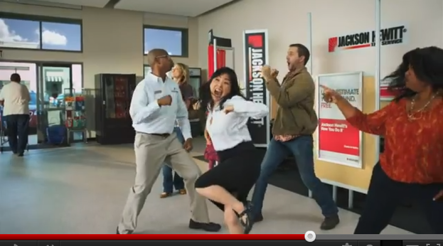 Jackson Hewitt dances to a new CMO