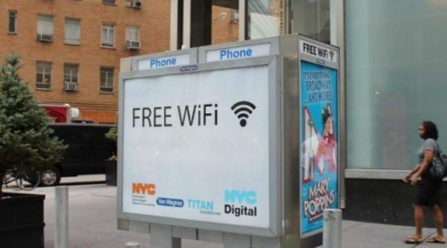 NYC Payphones turned to WiFi hotspots!