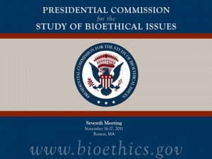 Obama Bioethics panel seeks PR