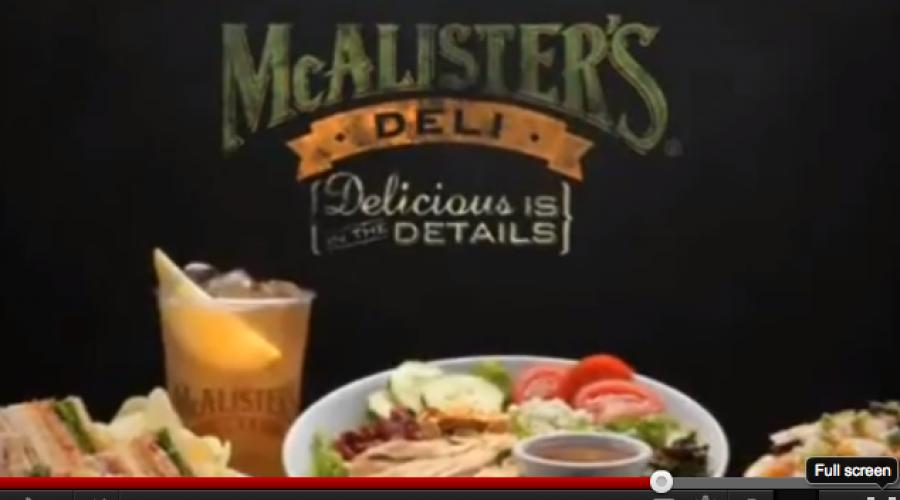 Account review prediction: McAlister's Deli