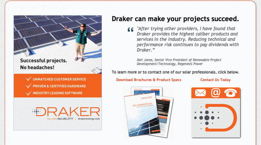 Solar consolidation: Draker & Solar Power Technologies are One