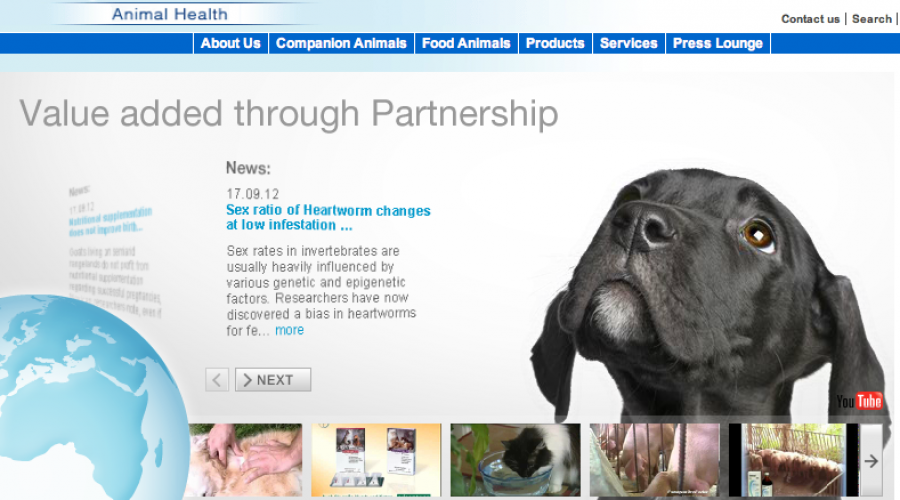 Bayer HealthCare to acquire animal health business