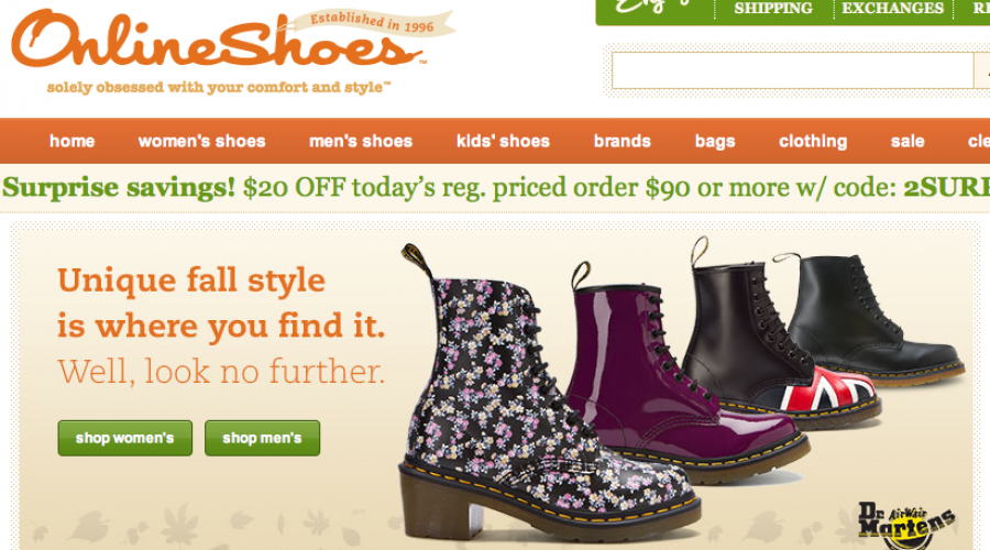 OnlineShoes.com seeks the right fit for next CMO