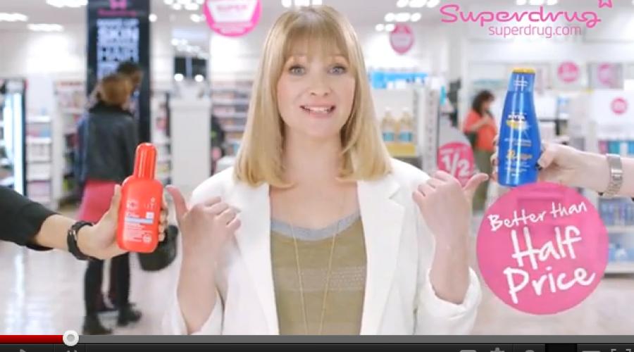 Superdrug shopping $7.5 million account around