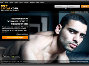 Gaydar uk login