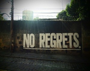 Secret video project: No Regrets