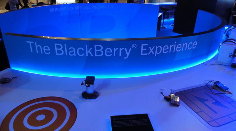 Blackberry finally reviews PR