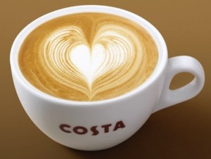 Costa Coffee sitting down with agencies