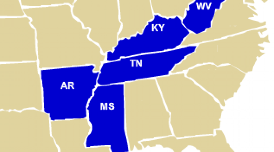 The Bluest States in America