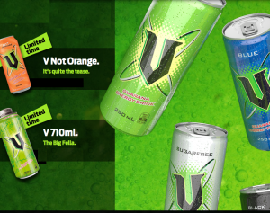 V energy drink pures into Europe: In Review