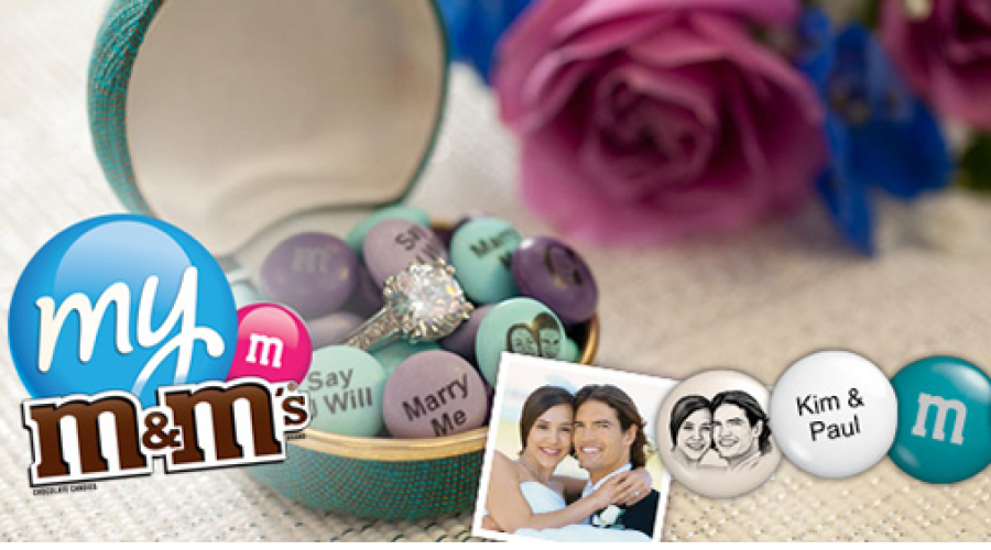 My M&Ms project targeted at Brides