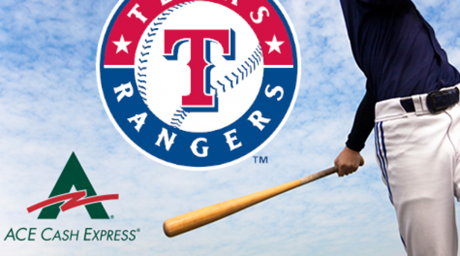 Team up with Ace Cash Express & Rangers on project
