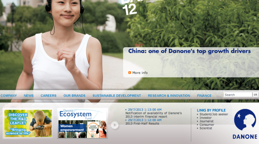 Danone Group in search of media agency for China