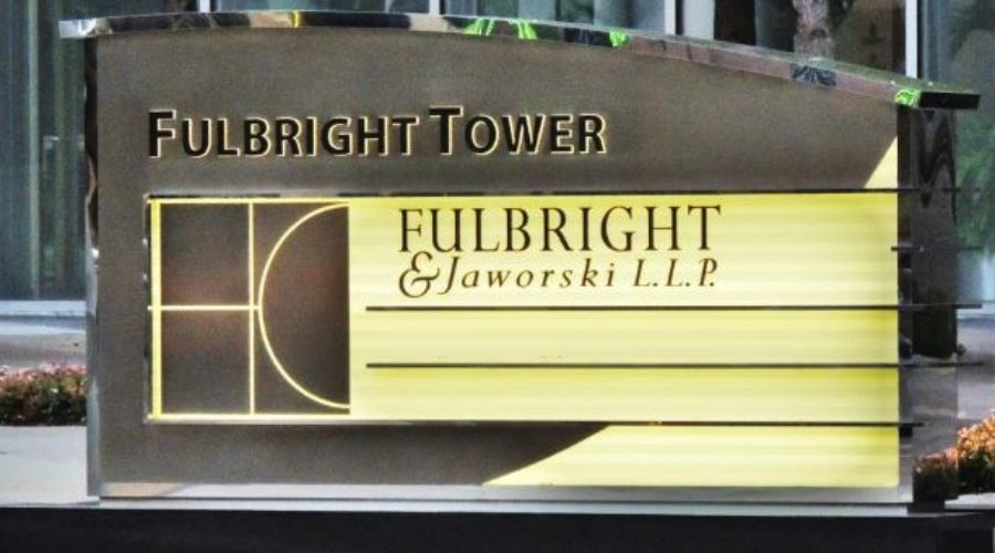 CMO needed at Fulbright & Jaworski