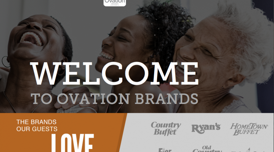 Buffets Inc. relaunch as Ovation Brands