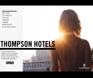 Thompson Hotels To Rebrand As Sixty Hotels Ratti Report Tracking Down Your Next Client
