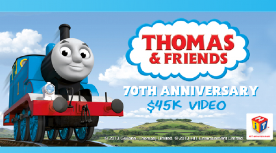 Thomas the Tank Engine's $45K Video Project