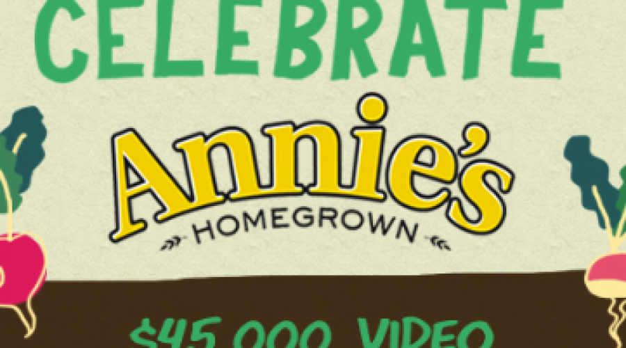 Annie's Homegrown has a Video Project