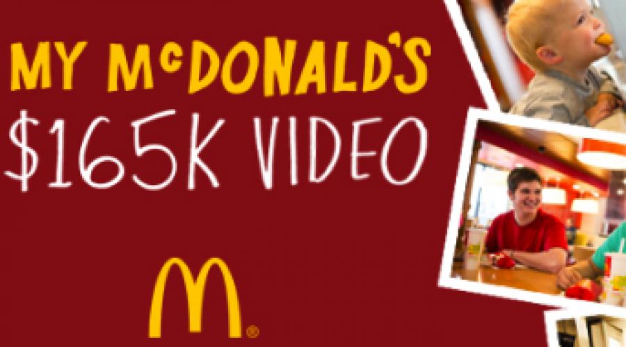 My McDonald's $165K Video Project