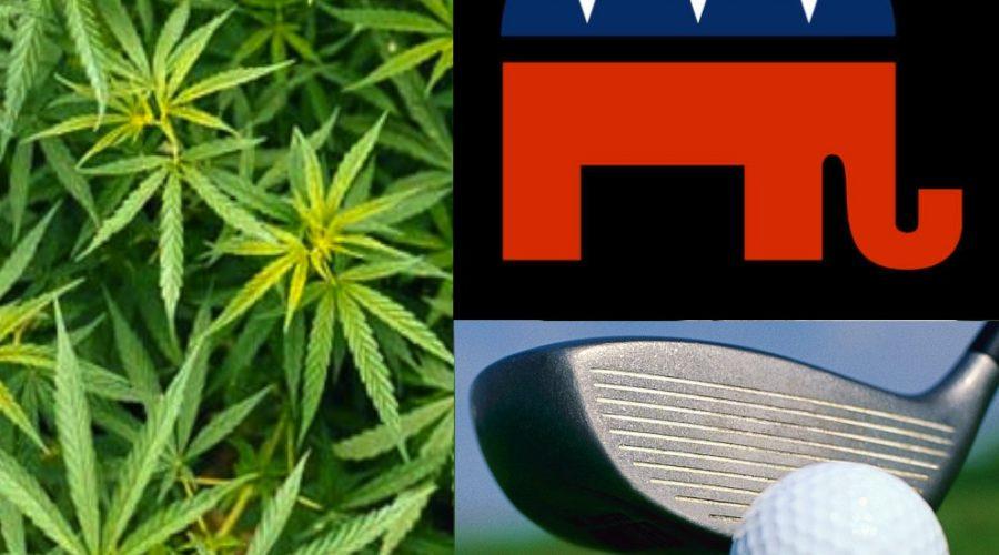 Rebranding Pot, Golf and the GOP