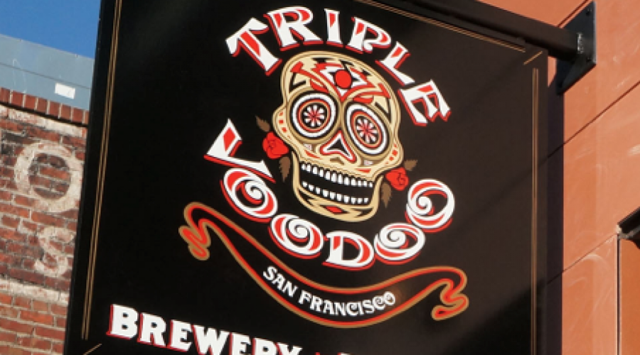 Triple Voodoo brewing casting it's spell