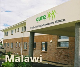 CURE International is praying for a CMO