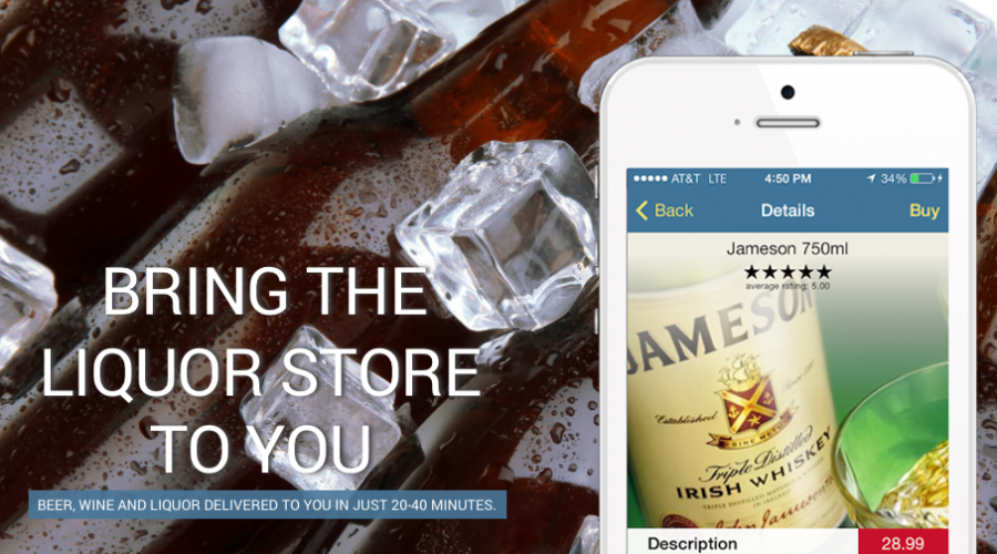 Drizly delivers booze – you should deliver their ads