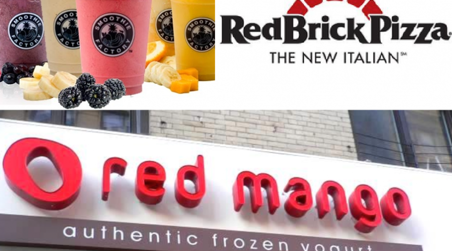 Hit list: Red Mango, Smoothie Factory and RedBrick Pizza