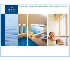 Playa Hotels & Resorts books a Marketing/PR Pro