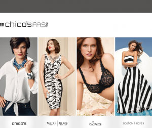 New CMO & Digital Pres at Chico's FAS
