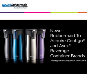 Sold: Contigo & Avex beverage container brands