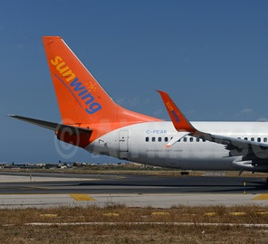 Sunwing Airlines takes off from America