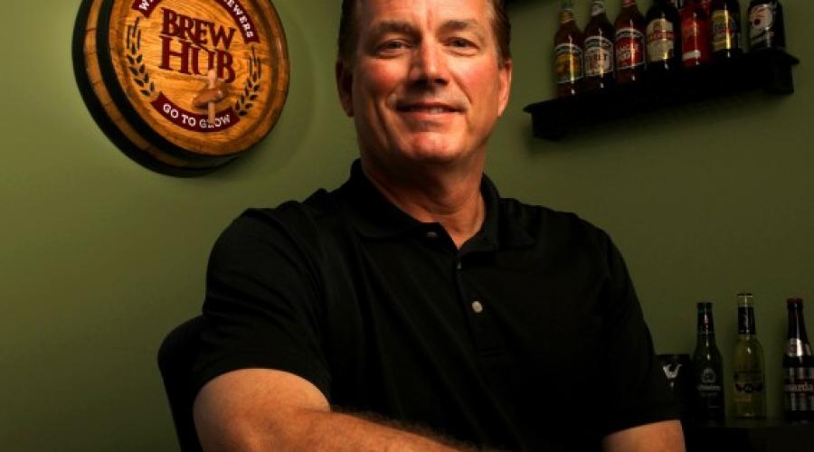 Anheuser-Busch exec opens Brew Hub