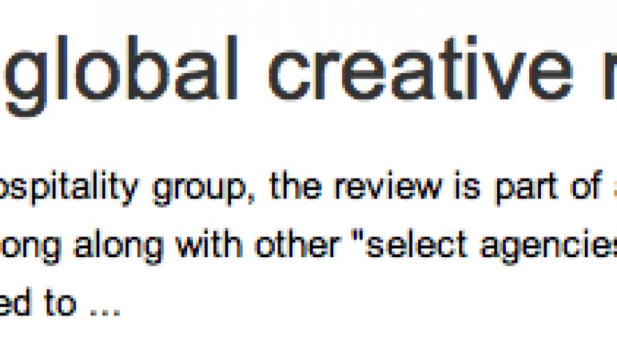 Shangri-La calls global creative review