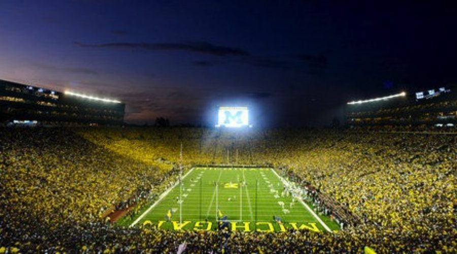 Michigan Athletic Department still blowing up