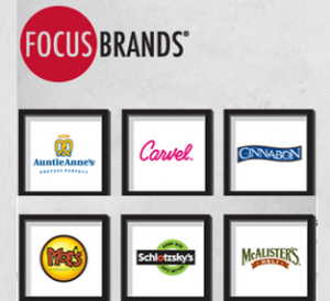 FOCUS Brands' new CMO a lots of additional moves