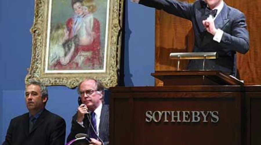 There's an unlikely team growing at Sotheby's