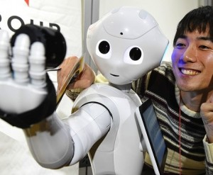 The Robot you should get in front of